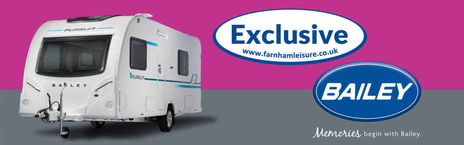 New Bailey Pursuit Exclusive range from Farnham Leisure