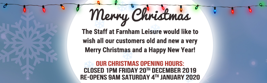 Christmas Opening Times at Farnham Leisure