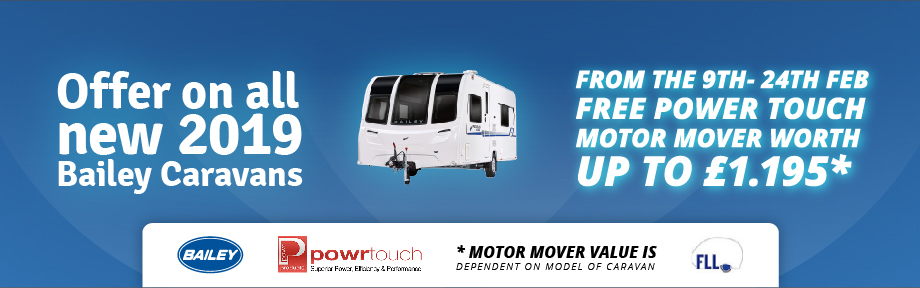 Motor Move Offer on New Bailey 2019 models